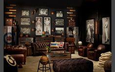 Kensington Chesterfield Ledersessel - Clubsessel Braun, Cigar Sessel - sir Chesterfield: