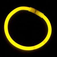 Yellow Glow Bracelet - 50 Pack