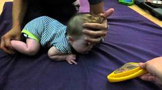 PT -teaching a baby to crawl Teaching Babies, Kids Learning, Teach Baby To Crawl, Crawling Baby, Niece And Nephew, Gross Motor, Your Child, Baby Kids, Therapy