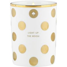 kate spade new york Fig Scented Candle ($67) ❤ liked on Polyvore featuring home, home decor, candles & candleholders, fillers, candles, decor, furniture, figuier candle, fragrance candles and kate spade home decor