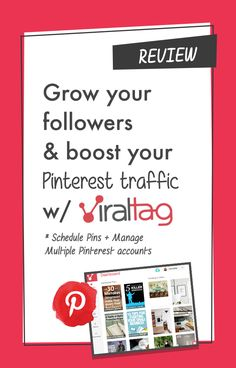 Schedule Your Pins with ViralTag. Keep your account updated http://www.twelveskip.com/reviews/content-marketing-tools/1376/viraltag-review-schedule-pins