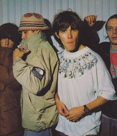 The Stone Roses Fotos de Music X, Indie Music, Musica Mantra, Oasis Band, Indie Kids, Stone Roses, Acid House, Youth Culture, 90s Culture