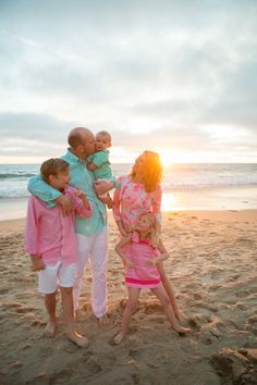 a day at the beach family photography