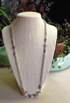 Vintage Napier Silver Necklace