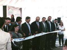 Corte de listón, Inauguración de la ampliacion planta SDM-M Sumidenso Mediatech