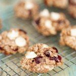 Oatmeal craisin breakfast cookies. Because when you start your day off with dessert... it makes your day that much sweeter! #healthy #wheatrecipes