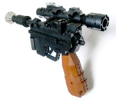 Han Solo's DL-44 Heavy Blaster Pistol - Come visit us at www.hothbricks.com, www.lordofthebric... www.brickheroes.com for up to date news about LEGO stuff