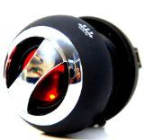 Bluetooth Pop Up Portable Mini Travel II Capsule Rechargeable 40mm Speaker For Iphone 5, iPod, Ipad and MP3 Players