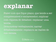 explanar