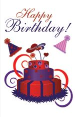 The Red Hat Society - Printable Greeting Cards