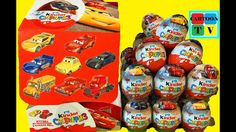 Kinder Surprise Cars 3 Disney Pixar Toys Eggs Lightning McQueen Jackson ... Cars 3 Disney, Disney Pixar, Lightning Mcqueen, Cartoon Tv, Cruz Ramirez, Jackson, Christian, Camera Phone, Eggs