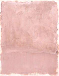 Mark Rothko, Pink on pink, 1953!