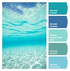 Paint colors from Chip It! by Sherwin-Williams Paint colors from Chip It! by Sherwin-Williams Coastal Paint Colors, Neutral Paint Colors, Paint Colors For Home, Coastal Color Palettes, Beach House Colors, Beach House Decor, Am Meer, Colour Schemes, Beach Color Schemes