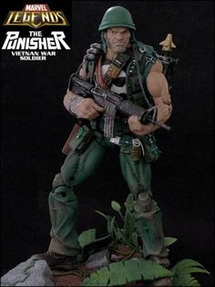 Punisher (Vietnan War Soldier) (Marvel Legends) Custom Action Figure