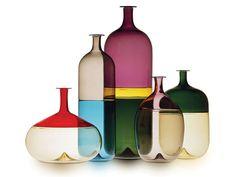 Vasos de Vidro Colorido