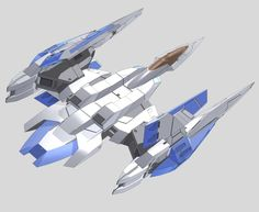 GNR-010 0 Raiser (aka 0 Raiser), is a mobile weapons support craft made specifically to support GN-0000 00 Gundam. The unit is piloted by civilian Saji Crossroad. Back