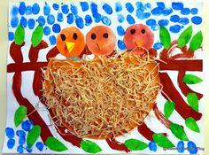 Maestra Caterina - Primavera:uccellini nel nido.