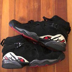 save off a27ac 158ce Jordan Shoes   Jordan 8s   Color  Black   Size  7b Jordan 8s,
