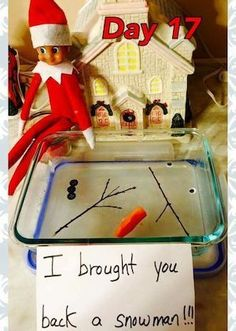 15 Adorable Elf on the Shelf Arrival Ideas! - Rookie Moms It's that time of the year again, a little Elf is headed to your home. Here's some incredible Elf on the Shelf arrival ideas that are fun for everyone! Elf Auf Dem Regal, Der Elf, Awesome Elf On The Shelf Ideas, Elf Is Back Ideas, Timmy Time, Elf Magic, Elf On The Self, Melted Snowman, Naughty Elf