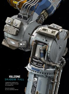 Killzone Shadow Fall concept art by Ewoud Luppens, via Behance