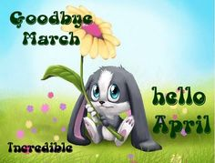 Goodbye March Hello April Cute Quote hello april april quotes goodbye march welcome april hello april quotes hello april images goodbye march quotes goodbye march hello april welcome april quotes first day of april quotes Funny Good Morning Images, Good Morning Image Quotes, April Images, March Quotes, Scripture Reading, New Month, Morning Messages, Funny Animal Memes, Months In A Year