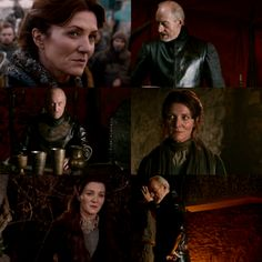Catelyn Tully Stark, Tywin Lannister ... could never have happened, but one could hope!