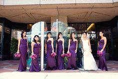 purple-plum-bridal-bouquets-wedding