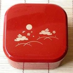 Japanese Usagi Unagi Lunch Bento Box Bunny Red #6372 by JapanBargain. $6.25. Plastic Bento Box with Traditional Japanese Pattern: Bunny, Moon and Cherry Blossom. Plastic Bento Box with Traditional Japanese Pattern: Bunny, Moon and Cherry Blossom * * High Quality Japanese Plastic Lacquer * * Dimension: 4.5 x 4.5x 2.25in Deep * * Max Temperature: 70 degrees C * * Min Temperature: -20 degrees C * * Not Recommed for Dishwash Machine or Microwave. * * Made in Japan