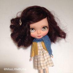 Vyhrazena - OOAK Custom Factory / Fake Blythe Doll - Belinda