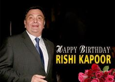 Wishing A Very Happy Birthday To The Most Talented & Legendary Actor Of Industry #RishiKapoor.