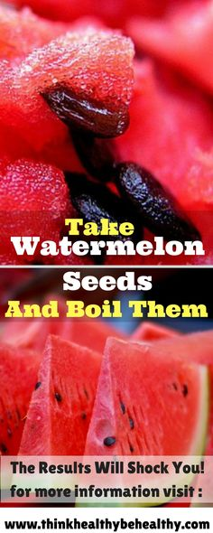 The Results Will Shock You! Take Watermelon Seeds And Boil Them