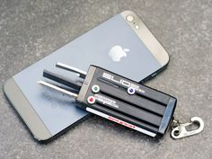 Keyport Slide 2.0. Keep keys, a bottle opener and a mini light all in a compact enclosure no bigger than a box of Tic-Tacs. #FathersDay GetdatGadget.com/gadget-gifts-technophobe-dad/