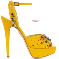 Charlotte Olympia Spring 2014 Collection - ShoeRazzi #charlotteolympiaheelsuxuidesigner #charlotteolympiaheelswomanshoes
