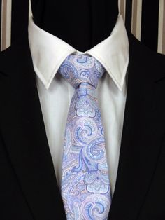 Your place to buy and sell all things handmade Extra Long Ties, Paisley Tie, Pastel Floral, Skinny Ties, Photoshop Design, Wedding Pastel, Neckties, Olive Green, Pink Blue