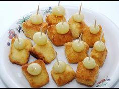 Queso camembert empanado con uvas, Receta por Ajomini - Petitchef