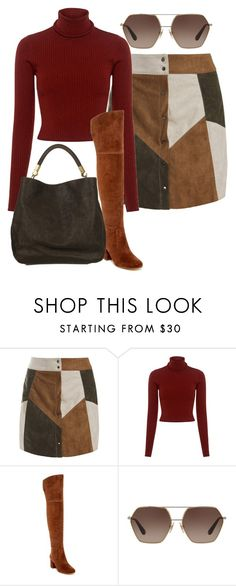 """""""sweet 60's"""" by rlconstantino on Polyvore featuring Sans Souci, A.L.C., Via Spiga, Dolce&Gabbana and Yves Saint Laurent"""