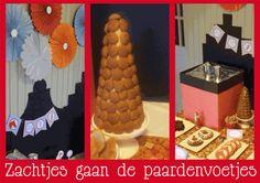 Zachtjes gaan de paardenvoetjes...Dessert-Table voor Sinterklaas gemaakt door www.gewoonmarieke.com