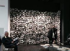 Paolo Nicola Rossini for Wallpepper at Mia Fair Milano. #wallpepper #interiordesign #design #miafair #design #cartadaparati