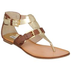 Tan Buckle Gladiator found on Polyvore