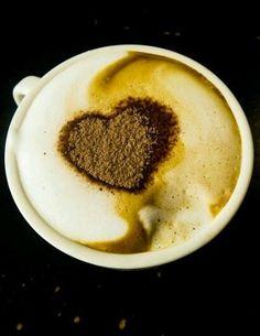 how to do latte art heart