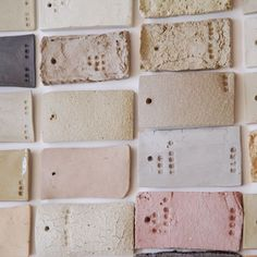 color palette Clay samples for ceramic cups, by Elke van den Berg Do It Yourself Inspiration, Color Inspiration, Textures Patterns, Color Patterns, Rosa Beige, Ceramic Cups, Ceramic Art, Color Stories, Colour Schemes