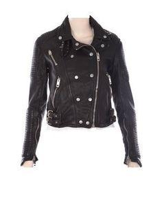 Real Lamb leather Biker Jacket $229.00