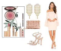 """""""#449 #minidress"""" by vintagelady52 ❤ liked on Polyvore featuring Milly, DANNIJO, Oscar de la Renta, RED Valentino and Charlotte Tilbury"""