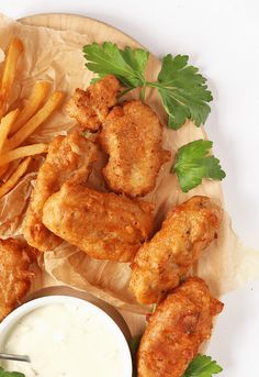 These Vegan Fish Sticks are made with shredded heart of palm dipped in a rich beer batter and served with vegan tartar sauce for an unbelievably good snack. via My Darling Vegan Vegan Foods, Vegan Snacks, Vegan Dishes, Food Dishes, Vegan Dinner Recipes, Delicious Vegan Recipes, Vegetarian Recipes, Vegan Soul Food Recipes, Vegan Fast Food