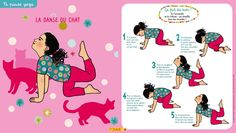 Du Yoga proposé par Pomme d'Api pour se détendre entre petits et grands! Yoga Nidra, Yoga For Kids, Exercise For Kids, Yoga Bebe, Relaxing Yoga, Relaxation Yoga, Yoga Illustration, Gross Motor Activities, Physical Activities