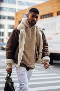 Street style Fashion Week homme automne hiver 2017 2018 New York 54