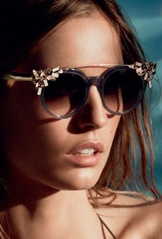 Bling sunnies by Jimmy Choo, arguably not my immediate style but still, can't deny they're fun. Jimmy Choo Sunglasses, Sunglasses 2016, Sunglasses Women, Shady Lady, Jimmy Choo Shoes, Luxury Shoes, Eyeglasses, Sunnies, Eyewear