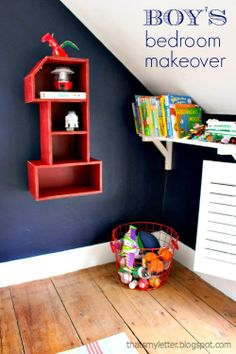 "That's My Letter: ""B"" is for Boy's Bedroom Makeover"