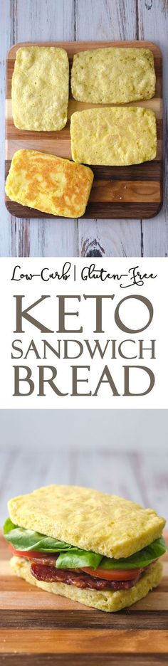This keto microwave sandwich bread is great for whenever that sandwich urge strikes. Ready in just two minute, this bread is perfect for any type of sandwich you can imagine. Gluten-free, grain-free, Paleo, ketogenic and low-carb. Made with just six simple ingredients, and only 1 net carb per slice!