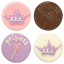 OREO COOKIE MOLD CROWN | Wilton Princess Cookie Candy Mold - to make chocolate covered oreos ...
